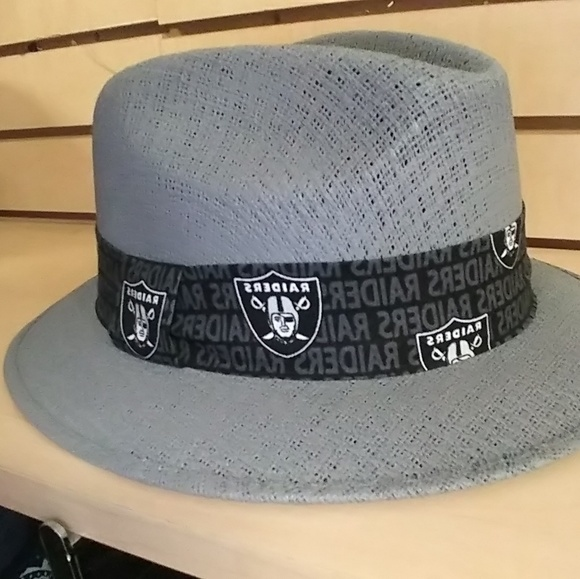 Raiders Fedora Panama Pachuco Brim Hat Fitted 93800441da5